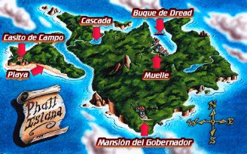 Mapa Isla Phatt