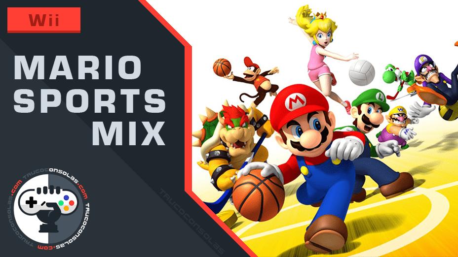 Trucos Mario Sports Mix Wii
