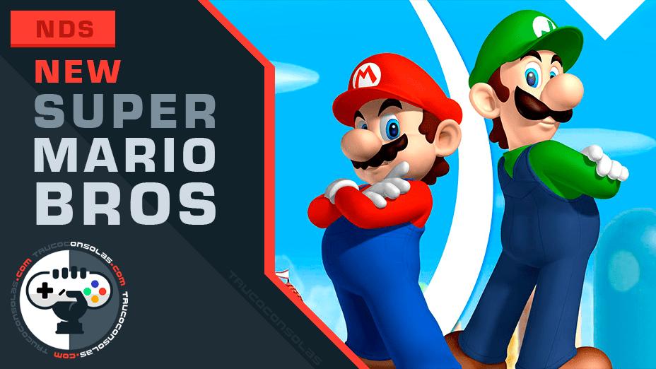 Trucos New Super Mario Bros Nintendo DS