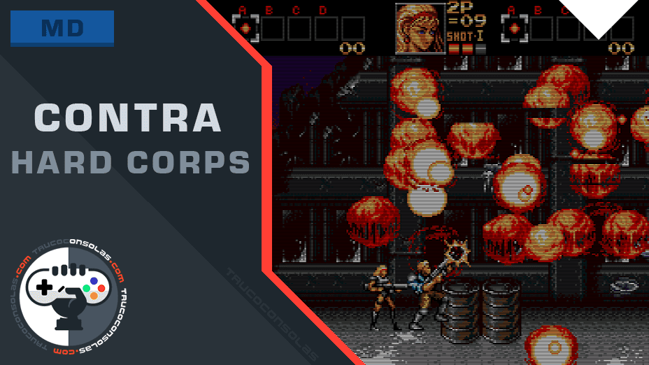 Trucos Contra Hard Corps Mega Drive