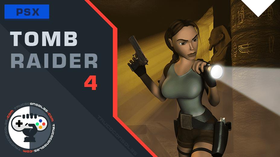Trucos Tomb Raider 4 PSX