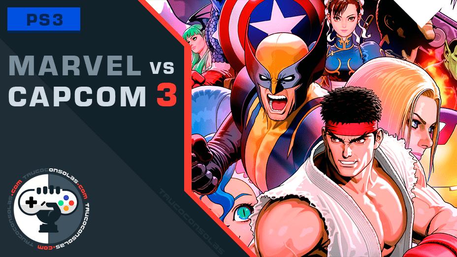 Trucos Marvel vs Capcom 3 PS3
