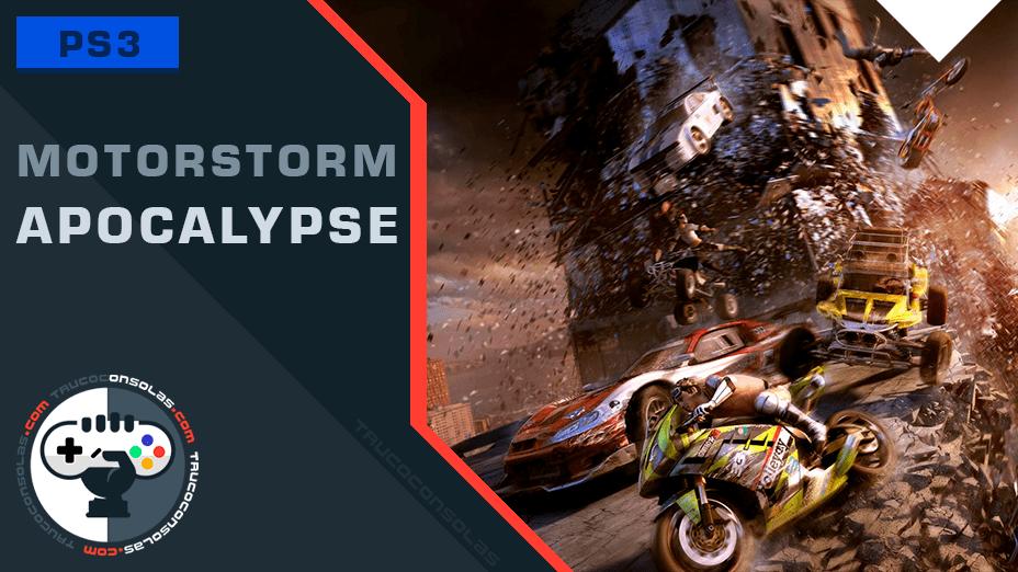 Trofeos MotorStorm Apocalypse PS3