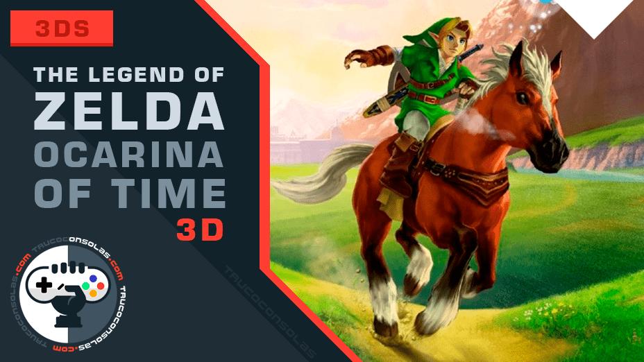 the legend of zelda ocarina of time 3d trucos