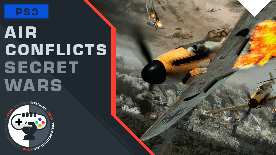 Trofeos Air Conflicts Secret Wars PS3
