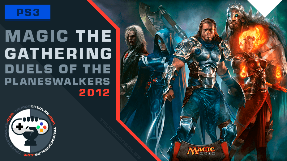 trofeos magic the gathering – duels of the planeswalkers 2012 ps3