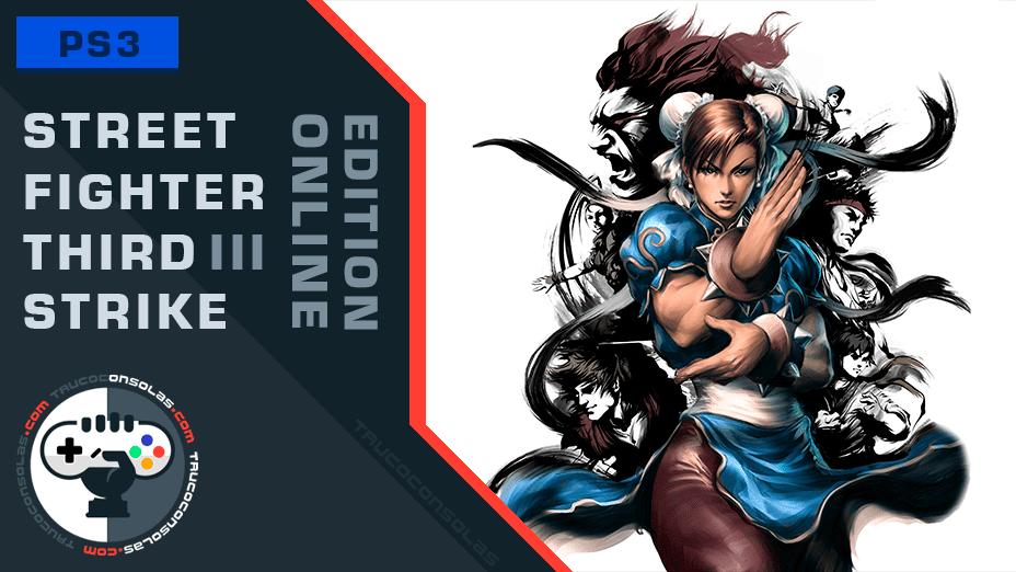 Trofeos Street Fighter III Third Strike Online Edition PS3