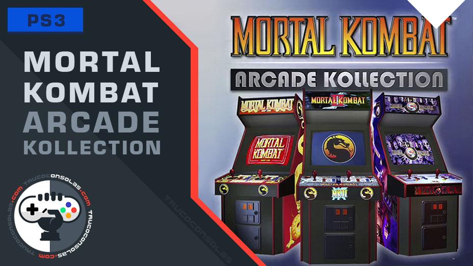 Trofeos Mortal Kombat Arcade Kollection