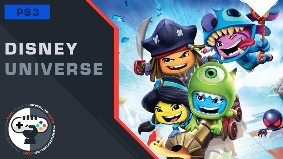 Trofeos Disney Universe PS3
