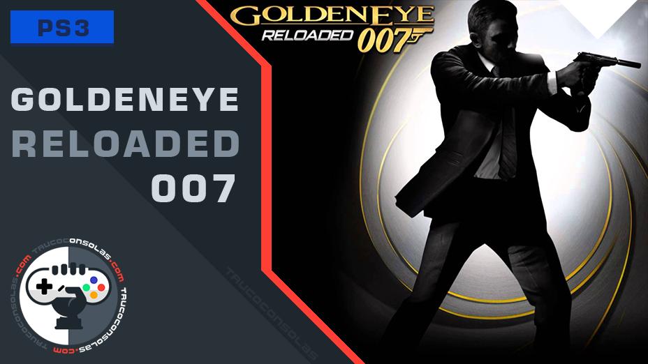 Trofeos GoldenEye 007 Reloaded PS3