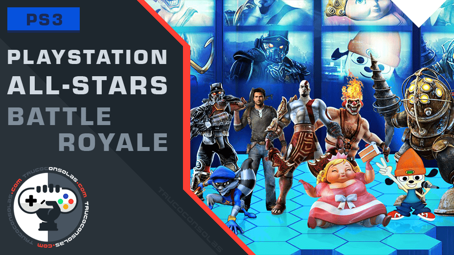 trofeos playstation allstars battle royale