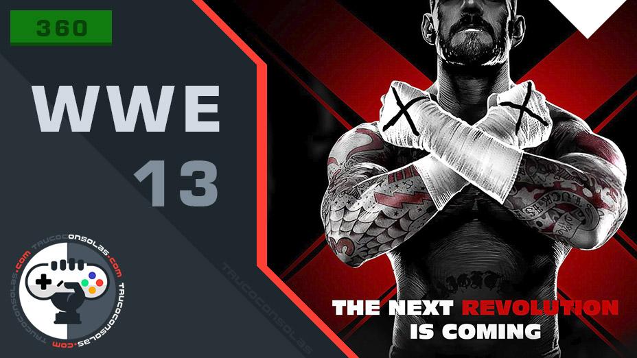 Trucos WWE 13 XBOX 360