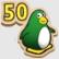 Empuja pingüinos