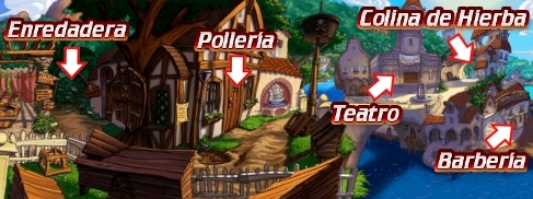 Mapa Puerto Pollo